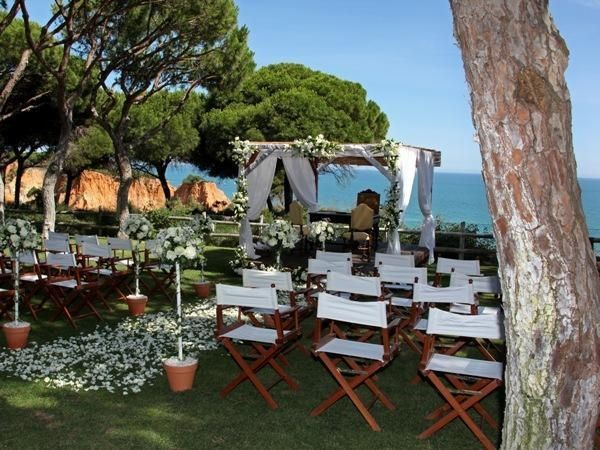 A wedding with a view by Algarve Events
