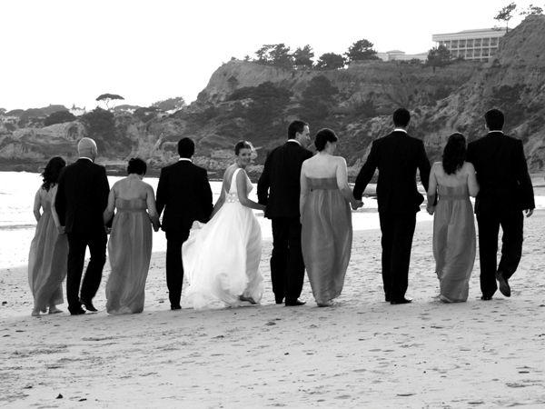 Beach wedding by Algarve Events
