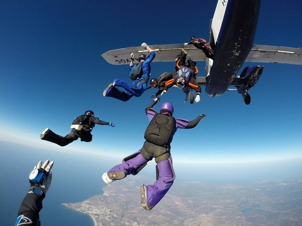 Jumping at 14,000 feet