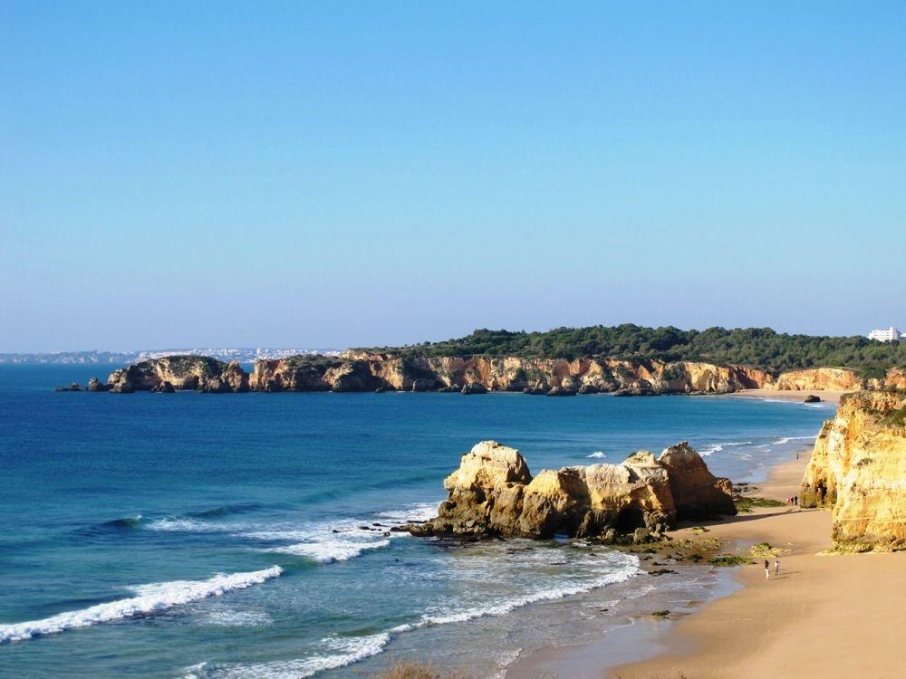 A Christmas Day walk on the beach, Algarve