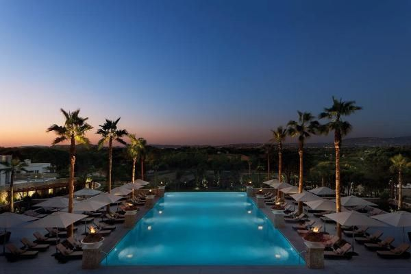 Infinity pool at Conrad Algarve