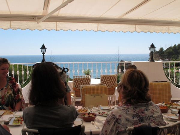 Table with a view, at Vila Vita Parc