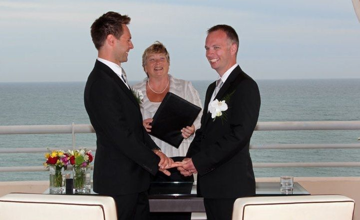 Gay wedding ceremony in the Algarve