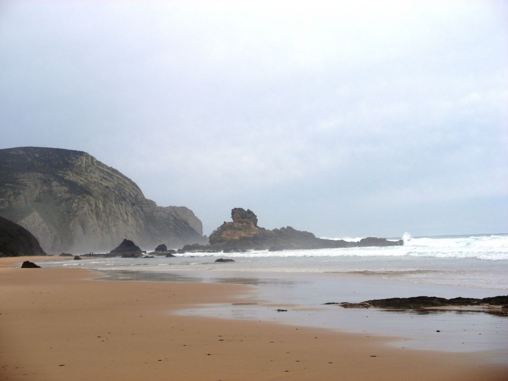 Castelejo beach in winter