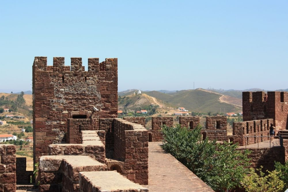 View from Silves Castle