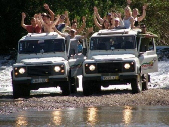 Jeep Safari fun