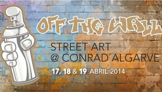Off the Wall Urban Art at Conrad Algarve
