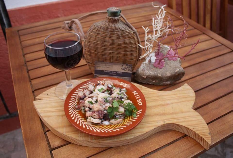 Octopus Salad @ Casa Verde, Ferragudo