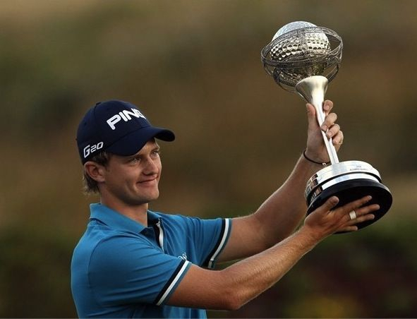 Portugal Masters 2011 winner Tom Lewis