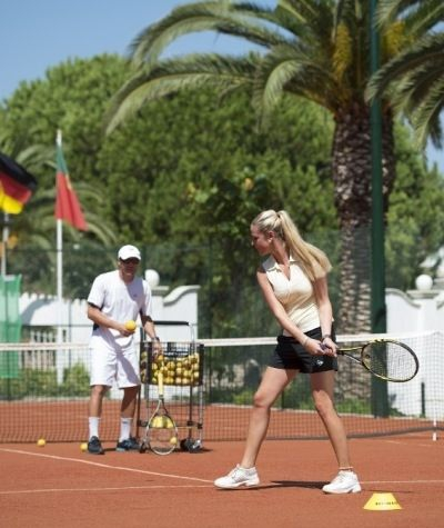 Tennis coaching at Vila Vita Parc