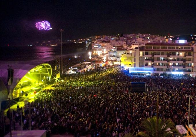Albufeira concert and party, Algarve