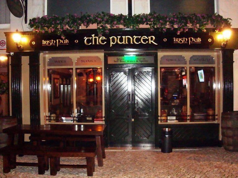 The Punter Irish Bar, Vilamoura, Algarve, Portugal