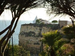 View of Senhora da Rocha from Belmondo