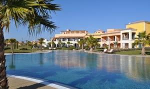 Cascade Resort pool area, Lagos, Portugal
