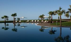 Pool area Cascade Resort, Lagos, Algarve