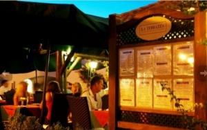 La Terrazza Italian Restaurant, Vale do Lobo Praça, Algarve
