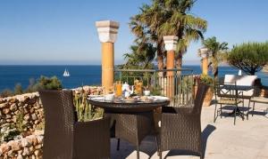 Mirandus Restaurant, Vivenda Miranda Boutique Hotel, Lagos, Algarve