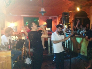 Live music at O'Neill Irish Bar, Vilamoura, Algarve