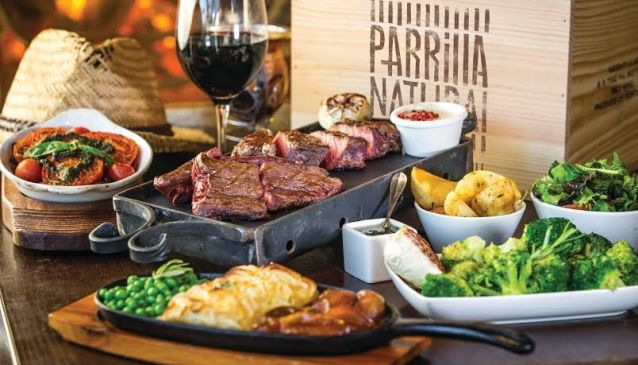 Parrilla Natural Steak House Restaurant