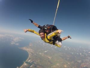 Skydive Algarve, tandem skydiving