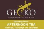 Afternoon tea at Gecko