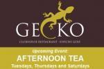 Afternoon tea at Gecko