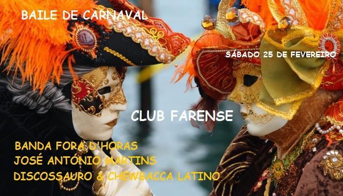 Baile De Carnaval 2017 at Club Farense
