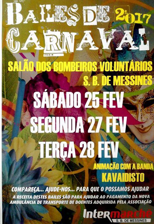 BAILES De CARNAVAL 2017