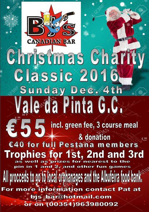 Christmas Charity Classic 2016