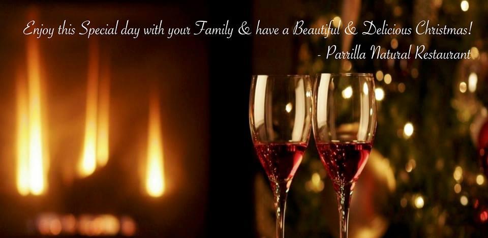 Christmas & New Year at Parrilla Natural