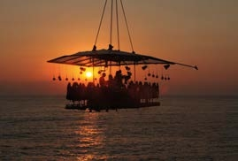 Dinner in the Sky at Quinta do Lago