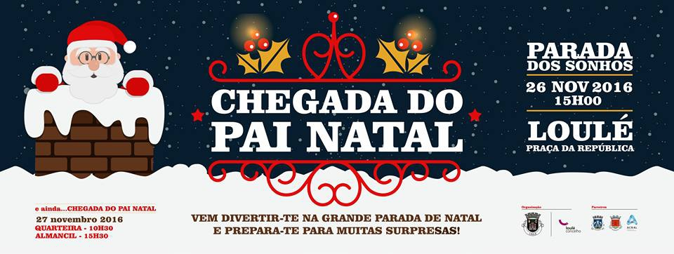 Father Christmas comes to Loule