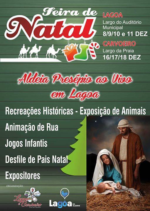 Feira de Natal de Lagoa - Aldeia Presépio ao Vivo