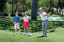 Golf for all at Quinta do Lago