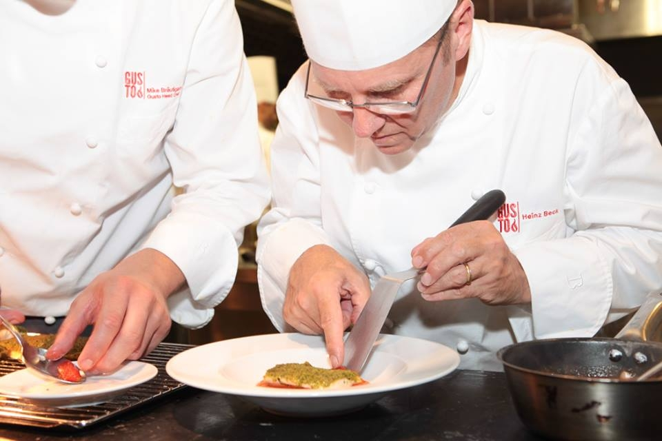 Heinz Beck Master Class at Conrad Algarve