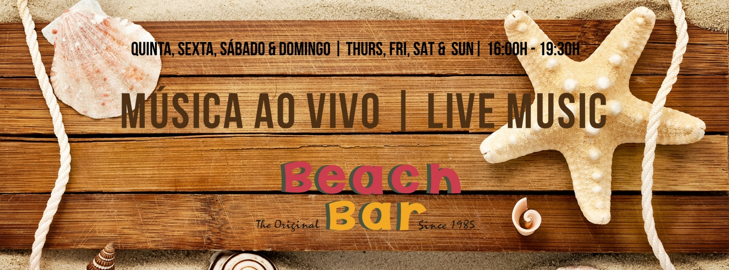 Live Music at The Beach Bar - Vale do Lobo