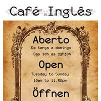 Live Music Weekends at Café Inglês