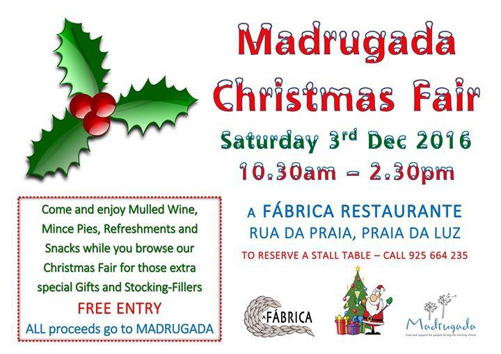 Madrugada Christmas Fair
