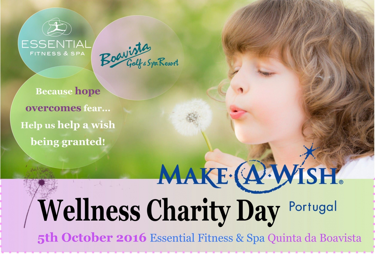 Make a Wish Portugal Wellness Charity Day