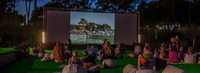 Movies in the Park at Quinta do Lago