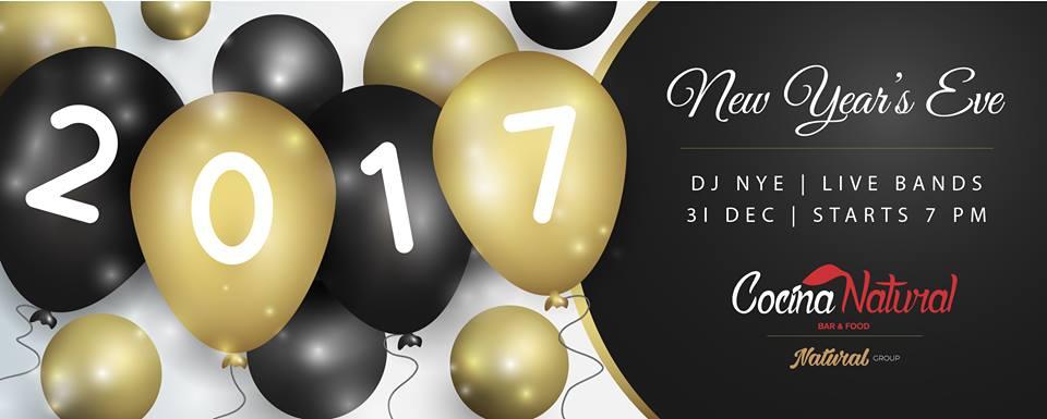 New Year's Eve at Cocina Natural
