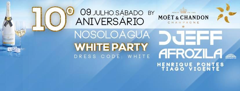 NoSoloAgua White Party