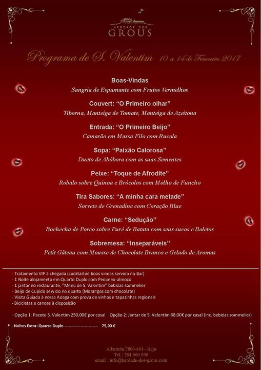 Programa de S. Valentim