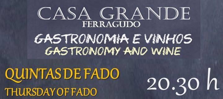 Fado Thursdays at Casa Grande