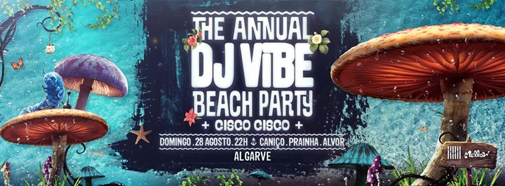 The Annual Dj Vibe Beach Party