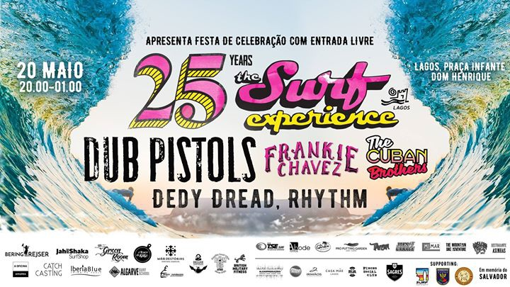 The Surf Experience 25th Anniversary Free Music Festival - Lagos