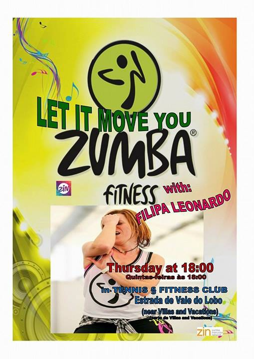 ZUMBA - Let it move you