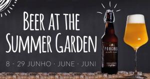 Beer at the Summer Garden