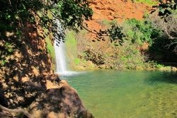 Vigário waterfall, near Alte, Algarve
