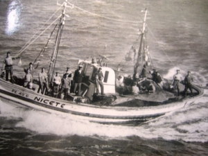 Algarve fishing boat, 1970's